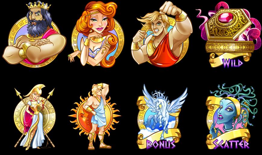 Greek Legends_symbols