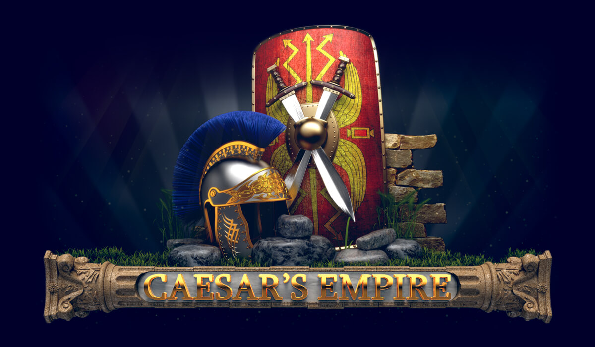 "Logo for the slot ""Caesar's Empire"""