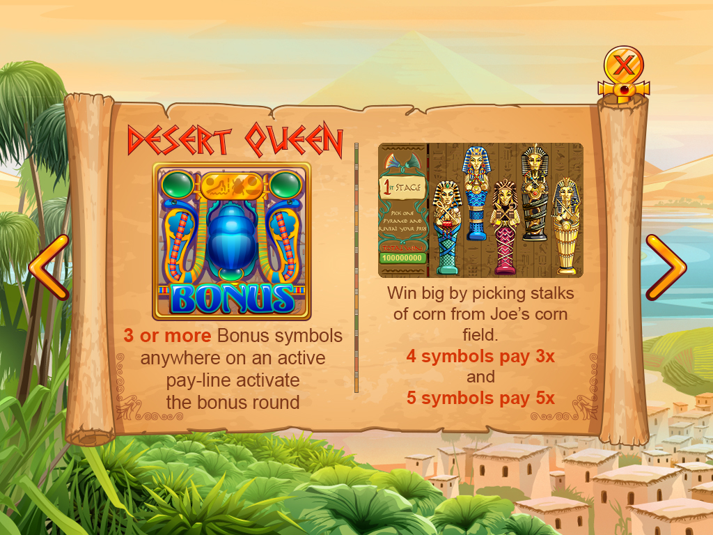 Desert queen_paytable3
