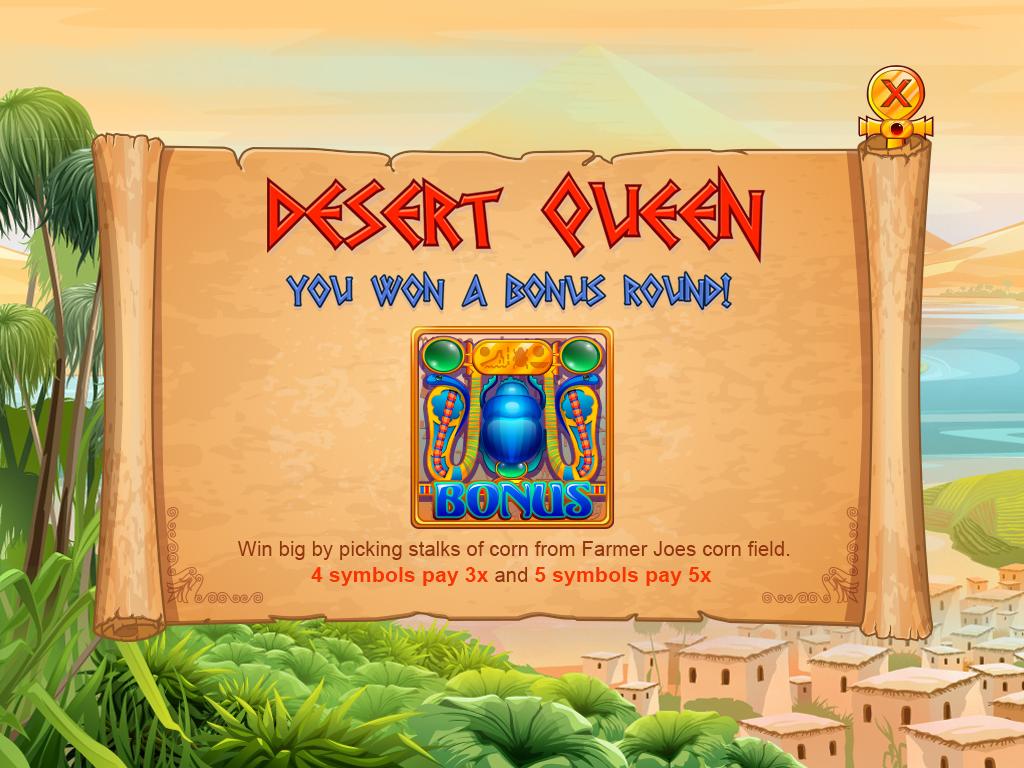 Desert queen_prebonus