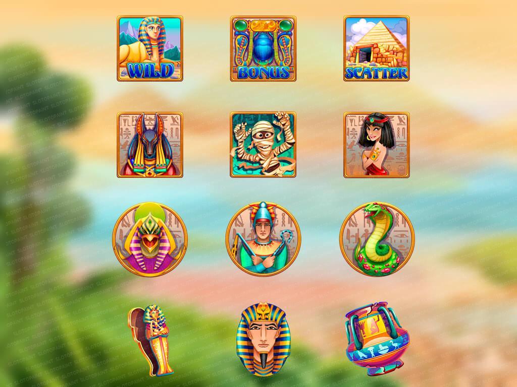 Desert queen_symbols