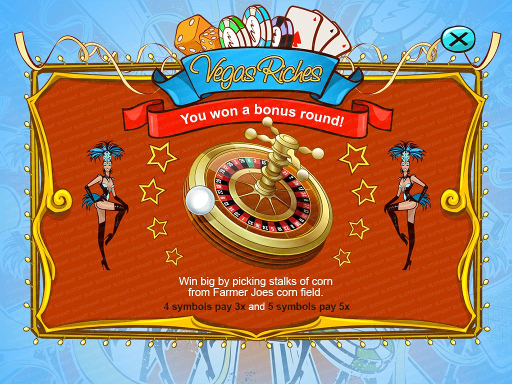 Vegas Riches_bonus-screen