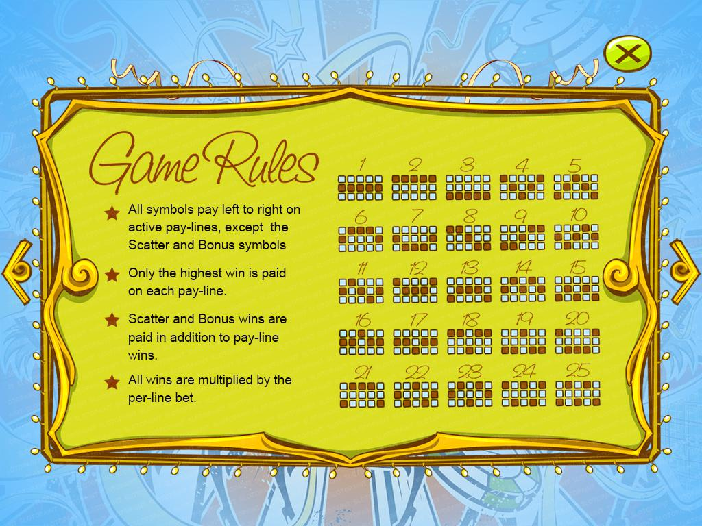 Vegas Riches_paytable4