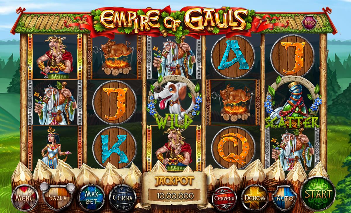Gauls symbols. icons, characters