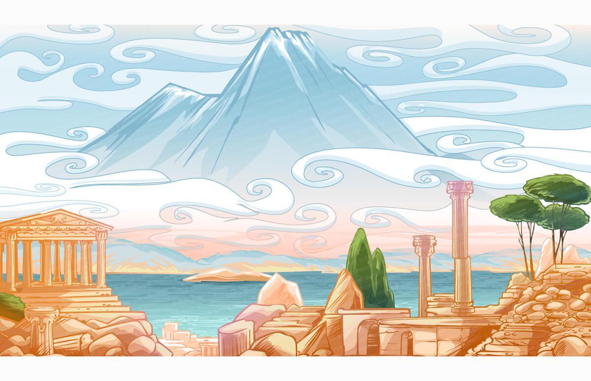 [Ancient] Greek Marble Mosaics 1: Olympia   Ancient Greece Wallpaper Designs