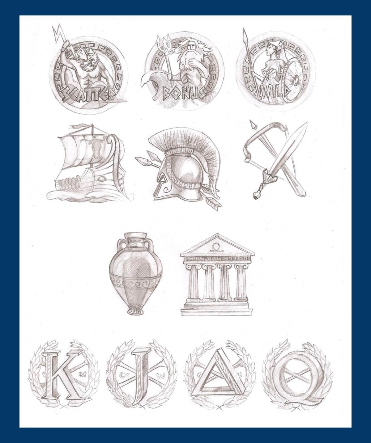 Game slot machine gods of olympus slotopaint game symbols biocorpaavc Images