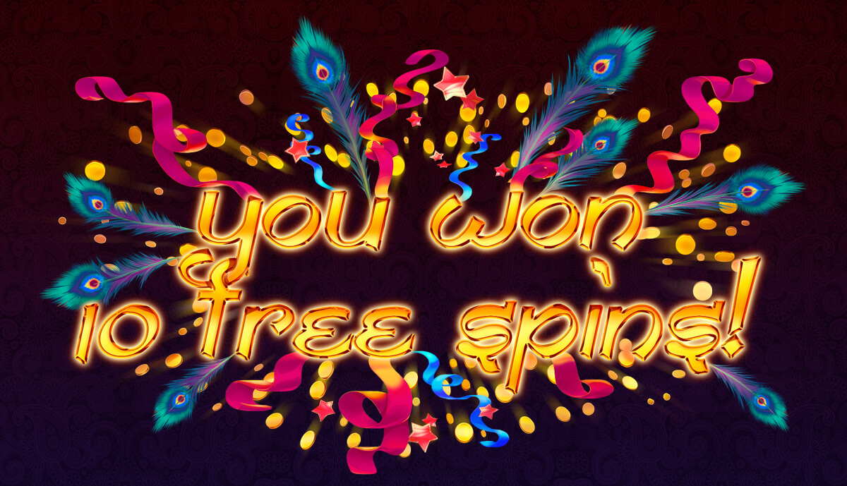 Free spins mode for the slot machine