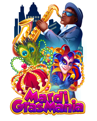 "Mardi Gras slot machine - slot machine ""Mardi Gras Mania"""
