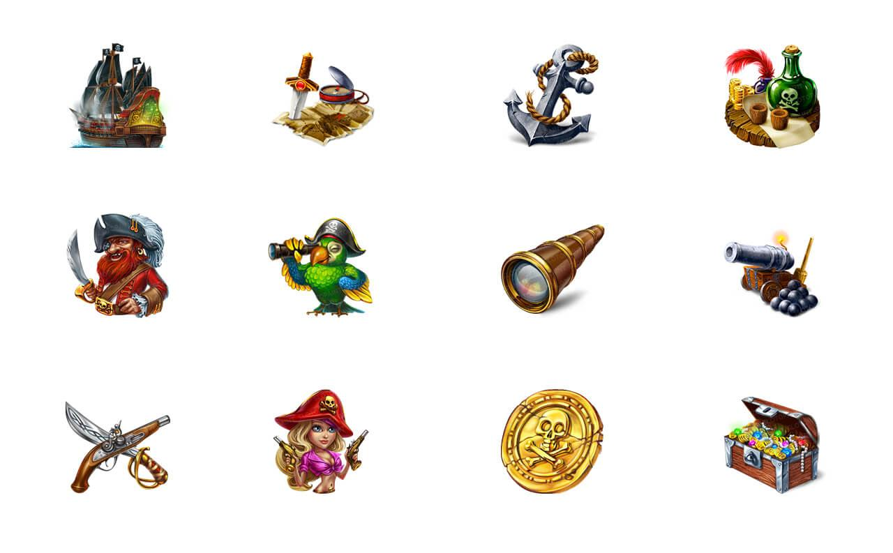 pirates_fortune_symbols