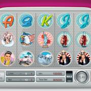 """Pin-up symbols at slot machine """"Pin-up"""""""