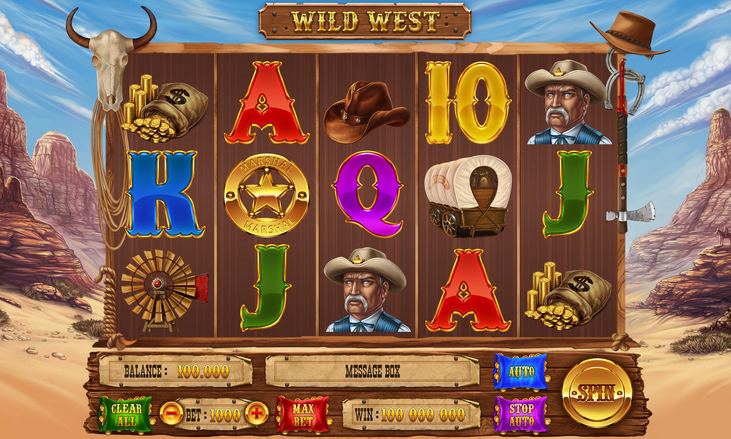 Slot Machine Gratis Wild West