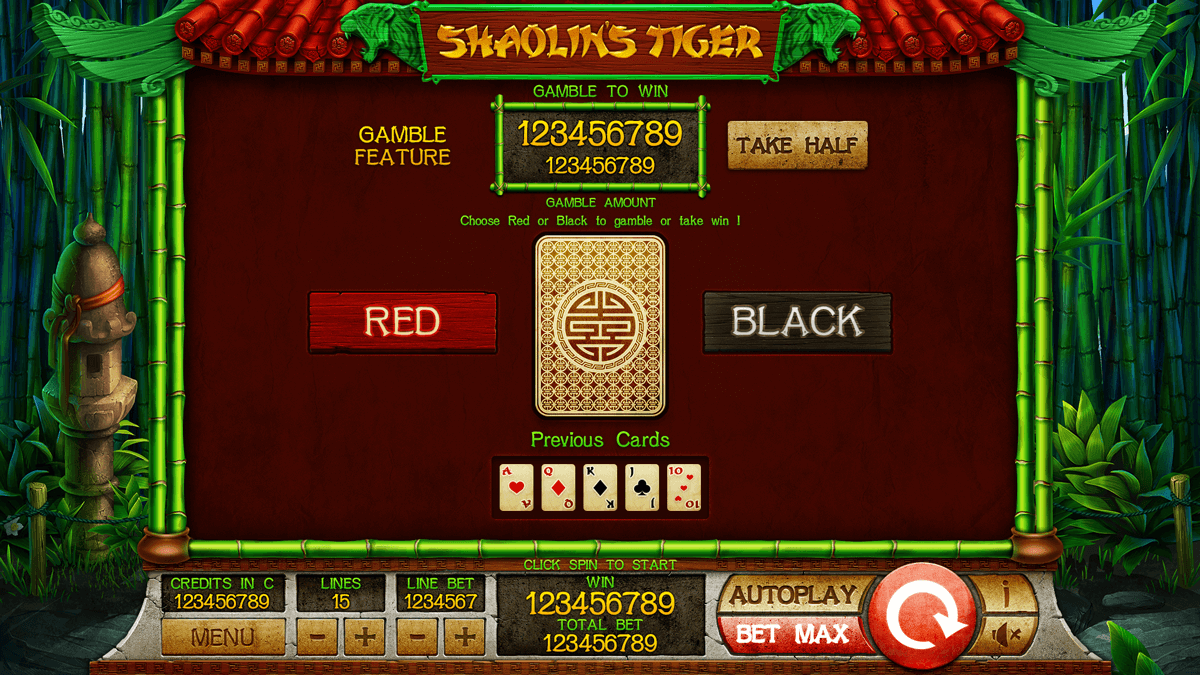 shaolin bonus-game slot machine