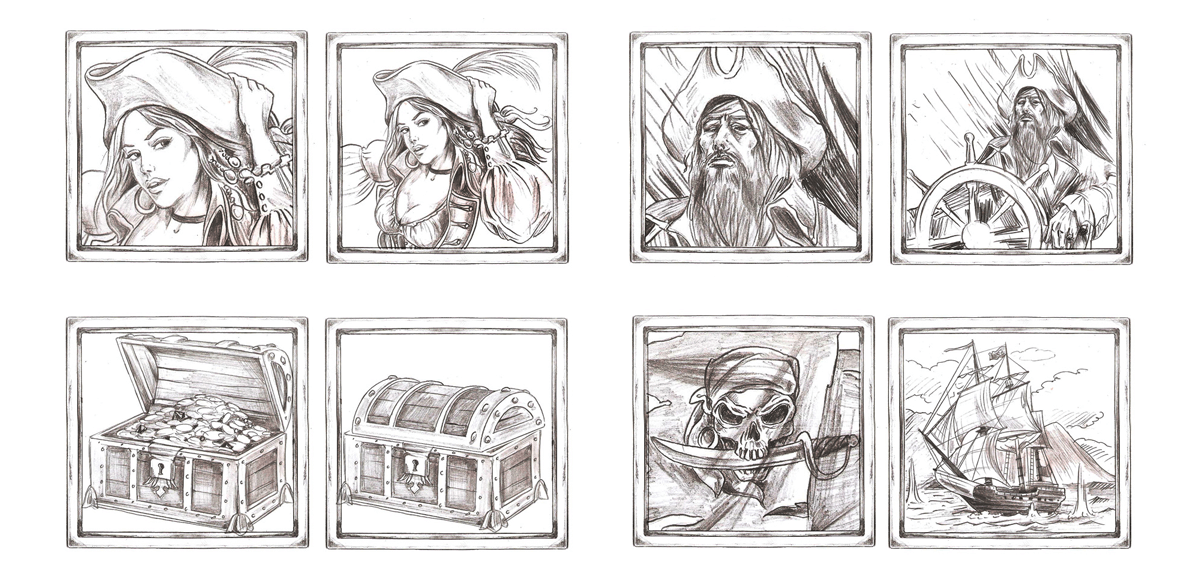 rich-pirates_mid-sketches