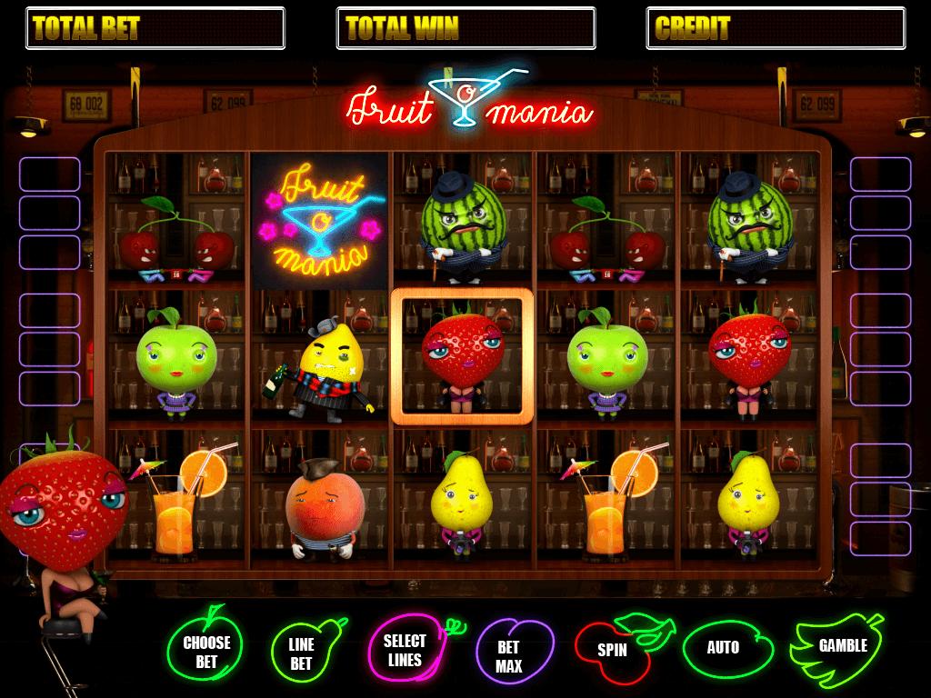 fruit mania casino game