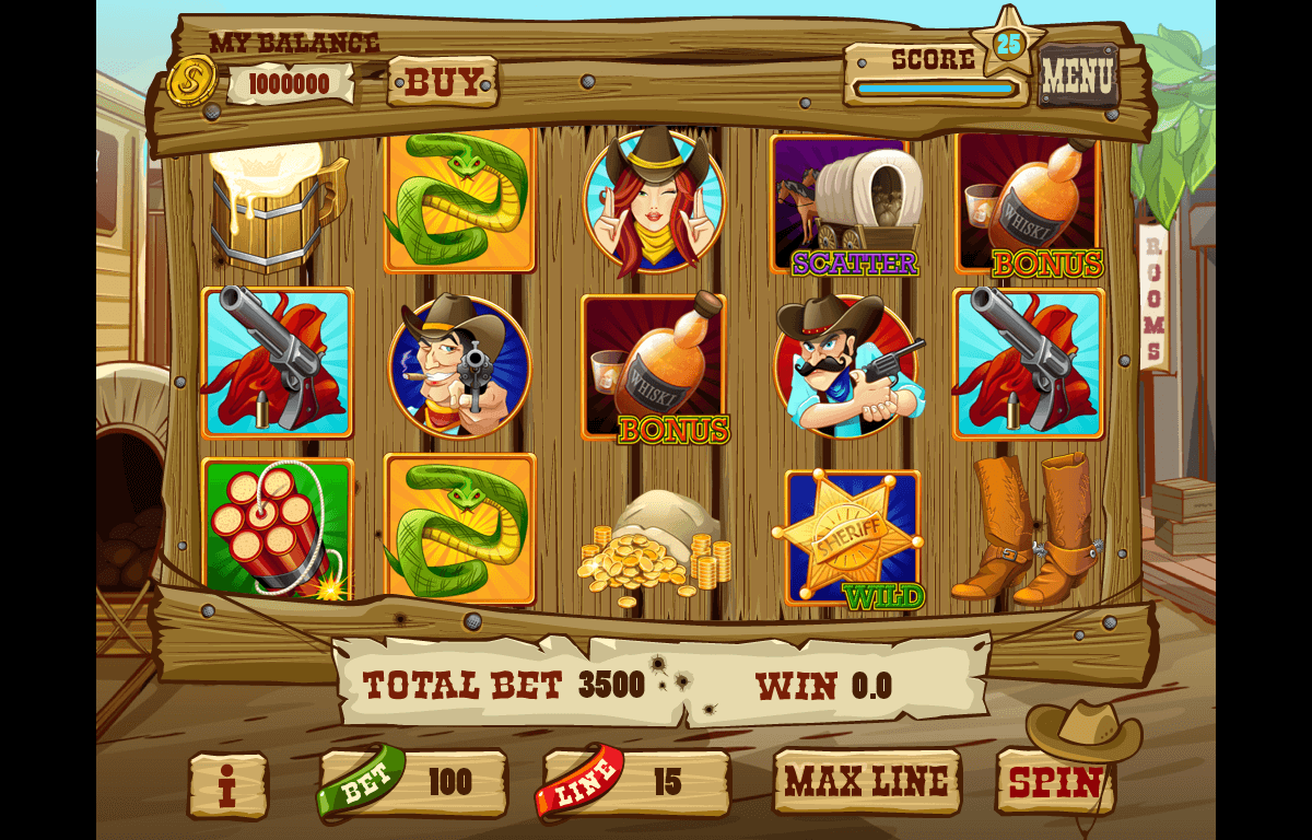 Game reel of the slot machine
