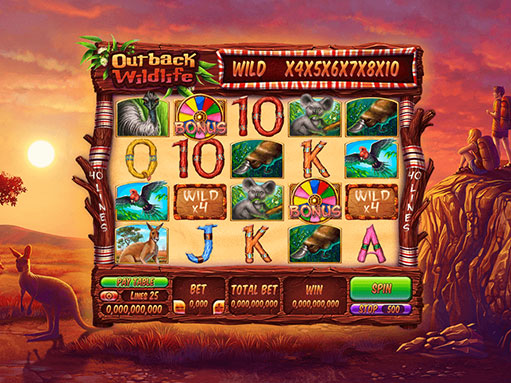 Game Reel og the slot game