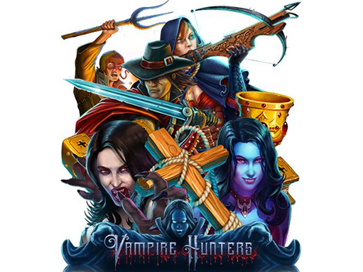 Logo of the slot Vampire hunters