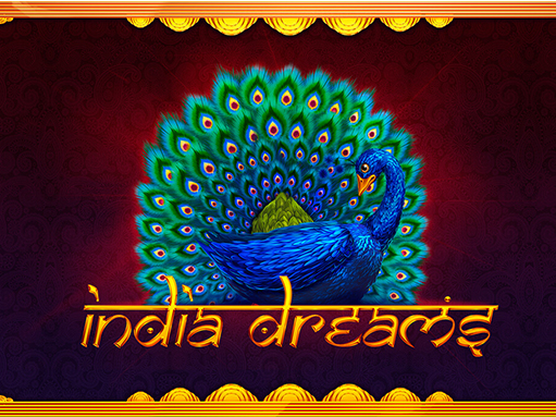 "Logo of the slot machine ""India Dreams"""