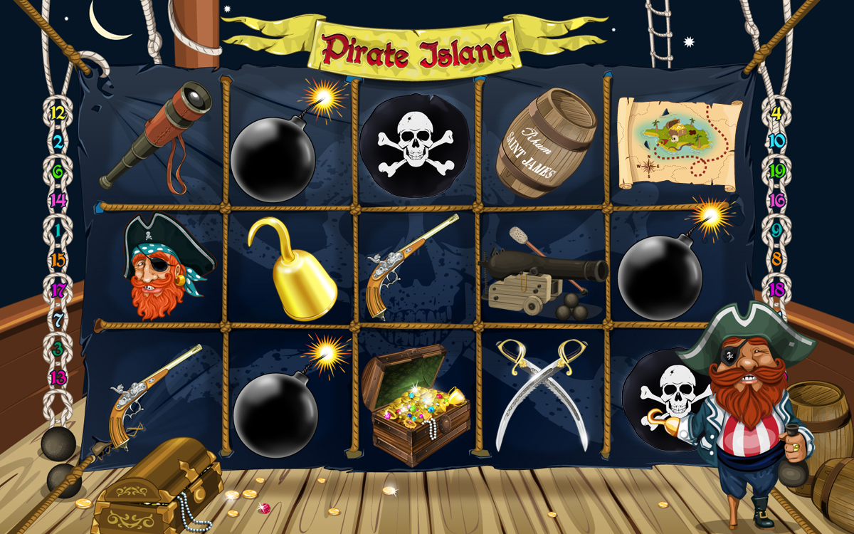 Pirate Island UI