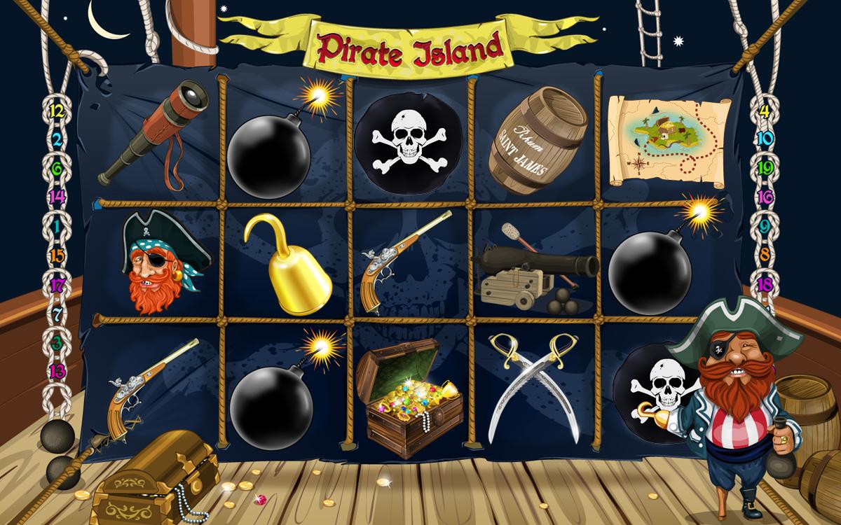 Pirate Island UI
