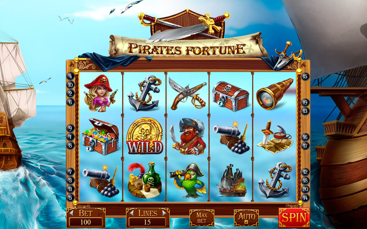 Pirates Fortune UI