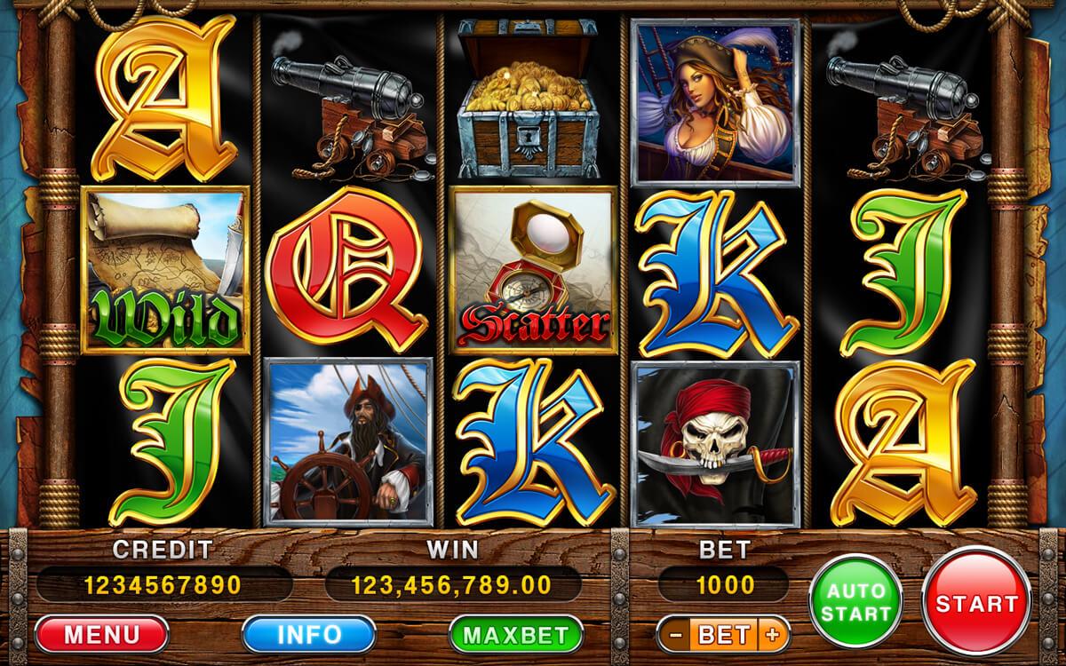 Rich Pirates UI