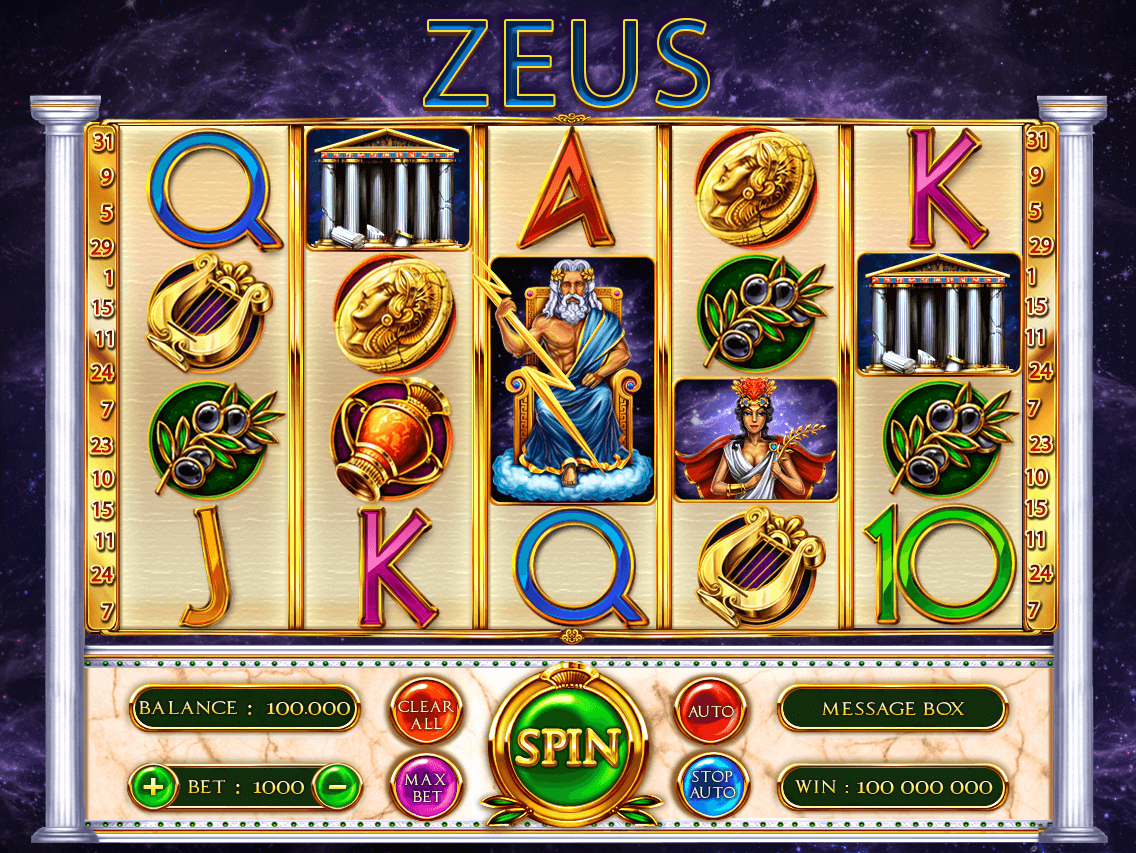 Zeus Slot Machine For Sale Zeus Slot Machine For Purchase