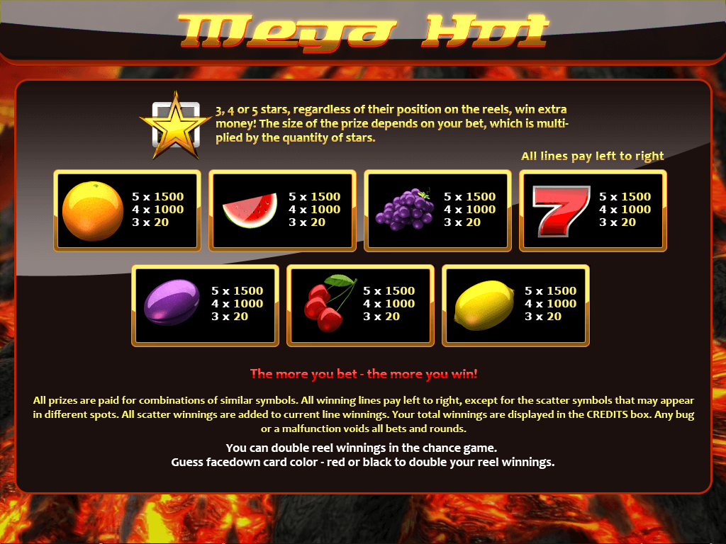 mega_hot-paytable