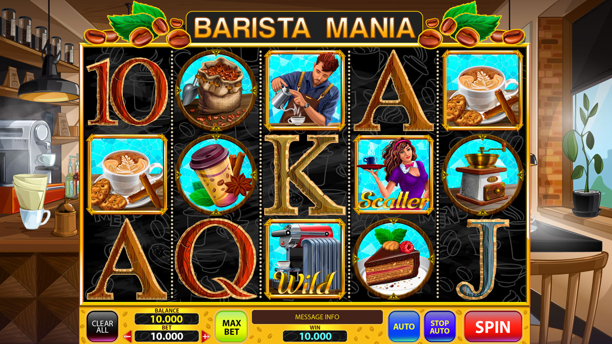 Сoffee slot game