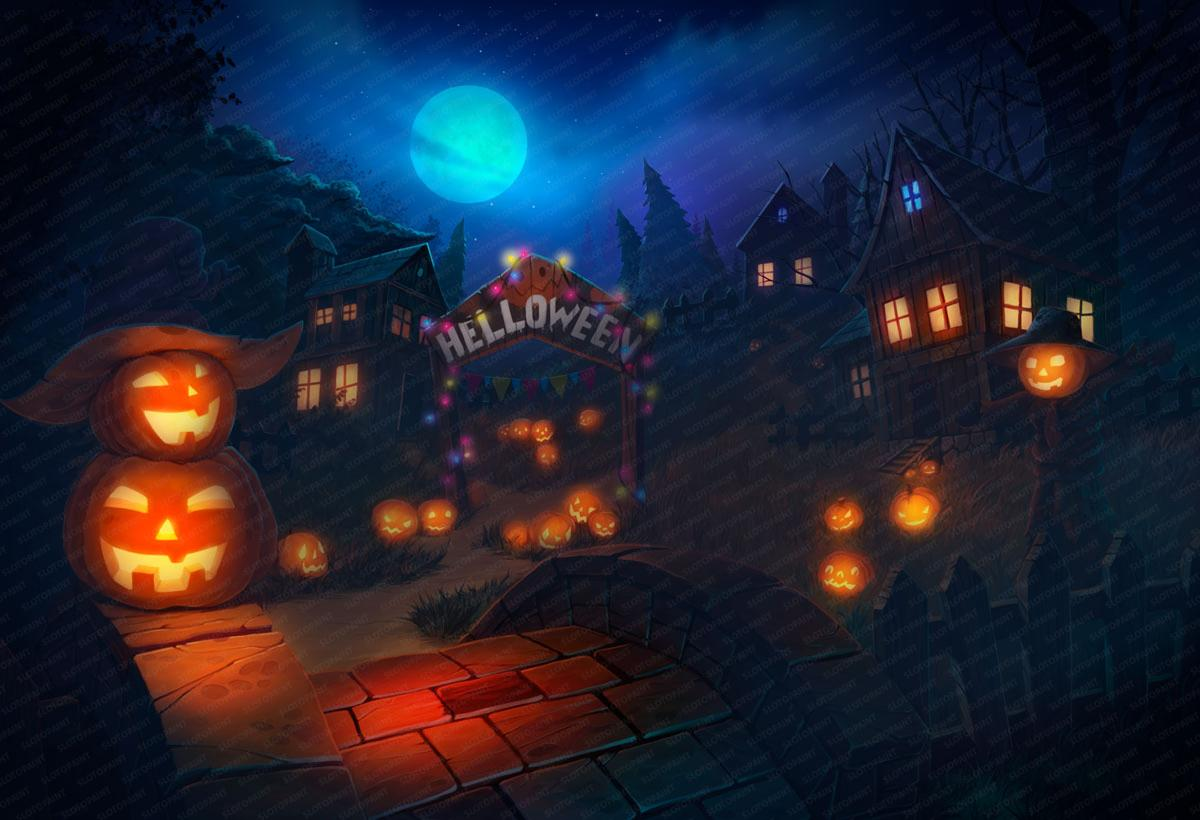 lucky_halloween_background