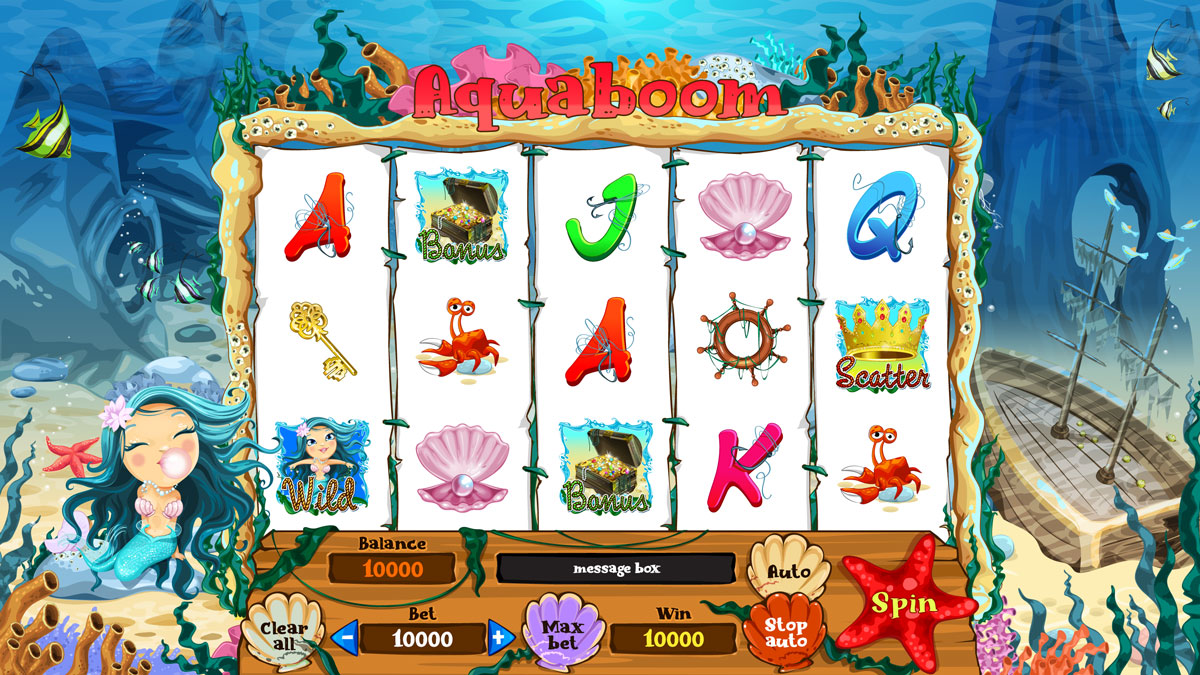 Sea Themed online slot machine