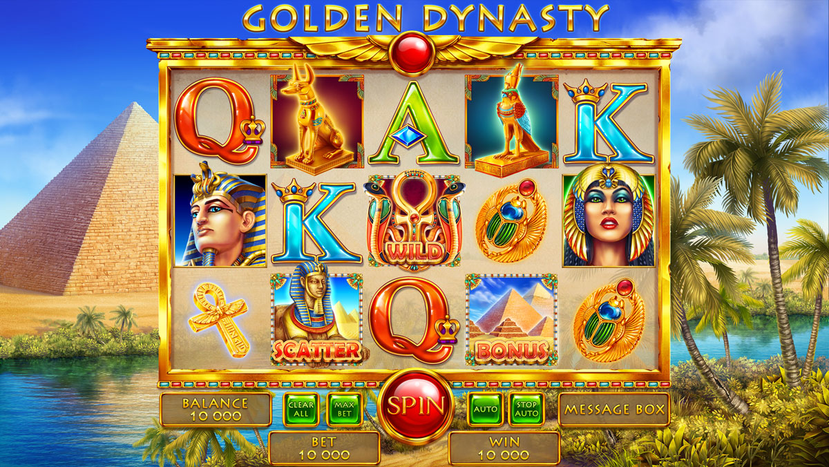 Pharaoh's Themed slot game