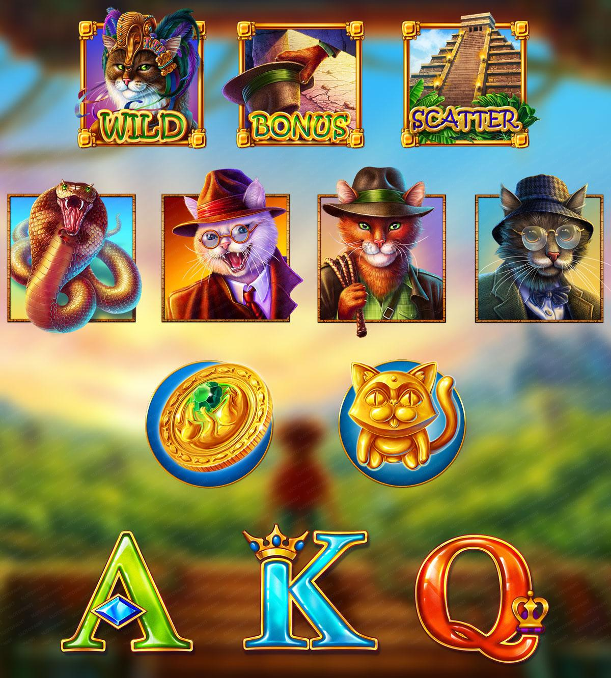 Cats online slots for SALE. Cats Themed slot machines for Purchase