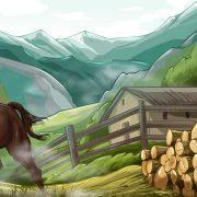 wild_horse_background