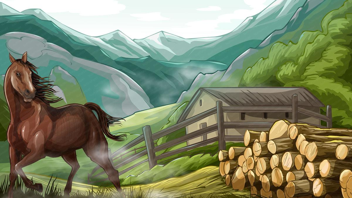 wild_horse_background