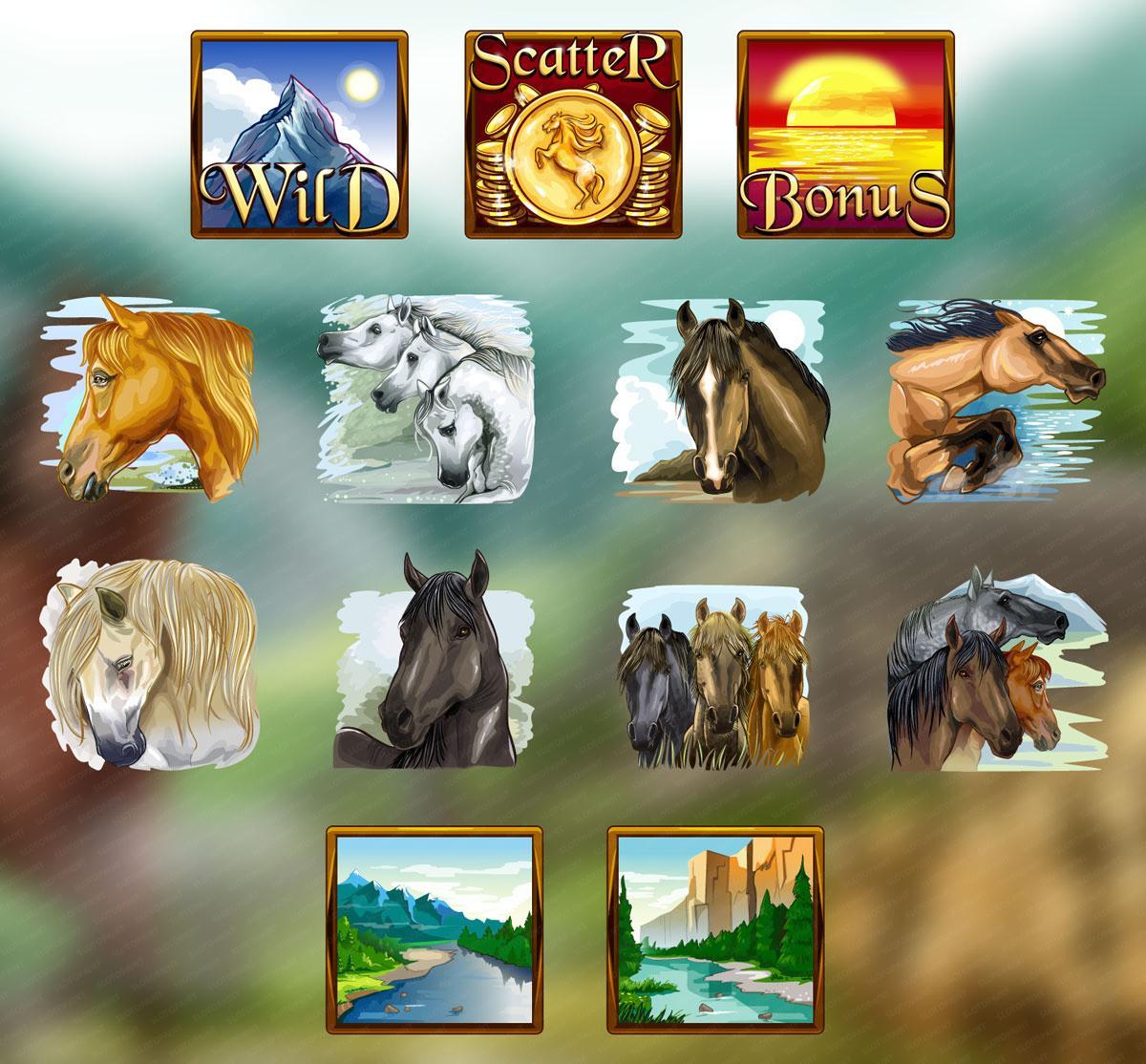 wild_horse_symbols