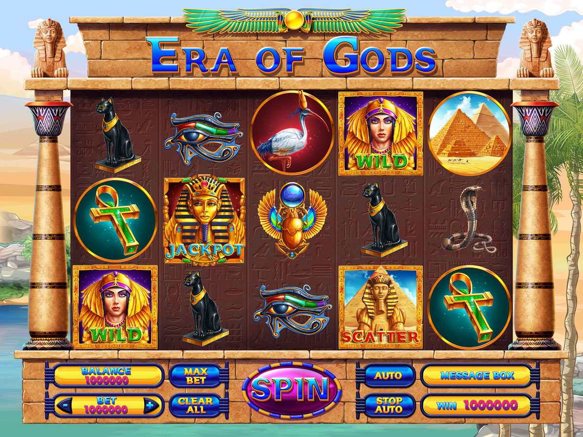 Egyptian Slot Machine Games