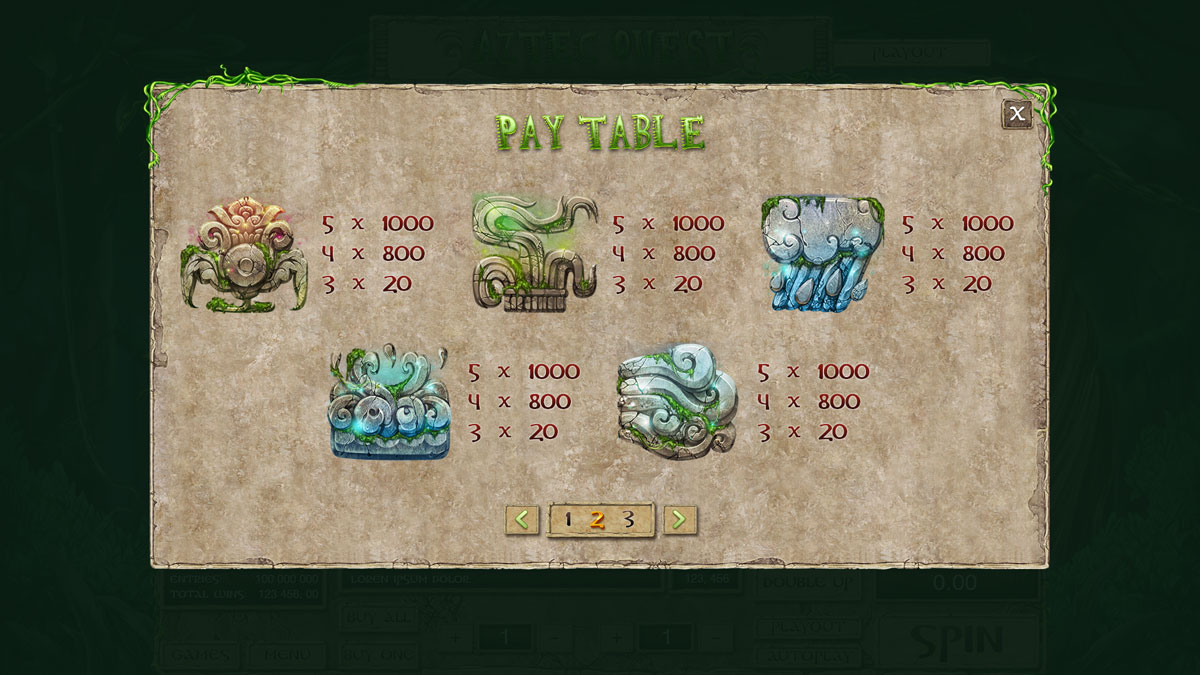aztec-quest_paytable-2