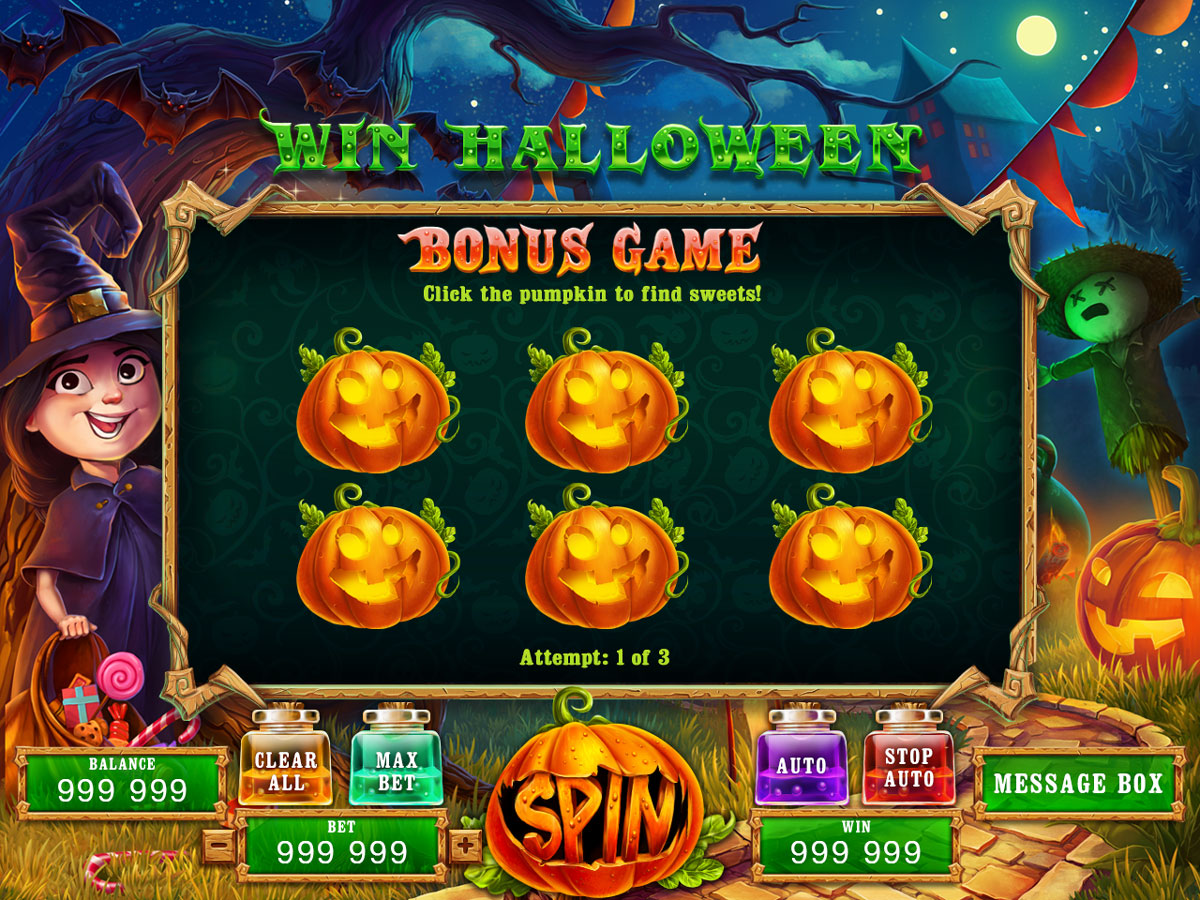 Free Halloween Slots With Bonus
