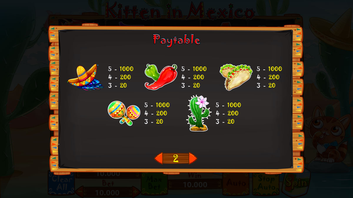 kitten-in-mexico_paytable-2