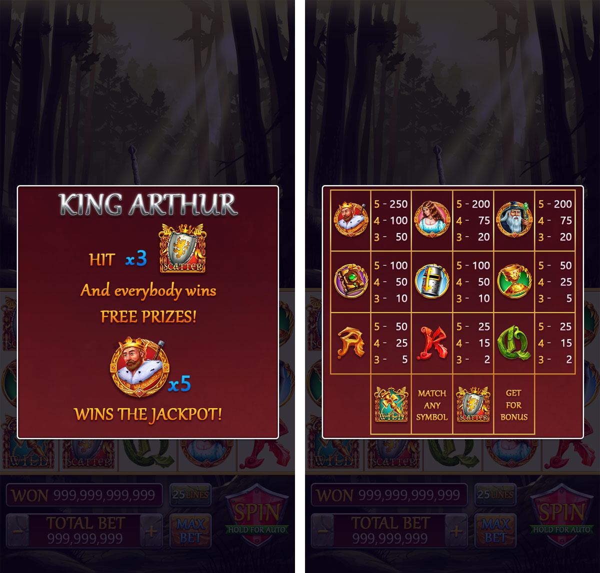 king_arthur_blog_paytable